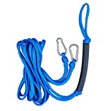 XUANNIAO Water Ski Harness Towable Tube Rope Connector Tow Rope Leash Surf Water Ski Rope Connector Boat Tube for Water Sport Sea doo, Boating,Jet ski, Waverunner 12ft Blue