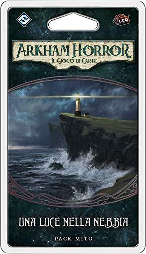 Asmodee - Arkham Horror, Juego de Cartas: una luz en la Niebla, expansión de Juego de Cartas, edición en Italiano, 9659