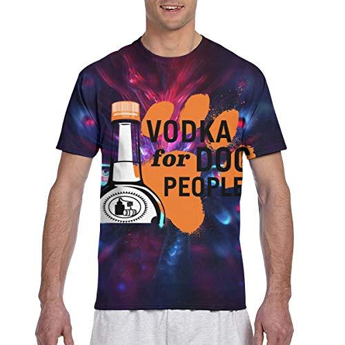 HarryShort Vodka Hecho a Mano de Tito - Vodka para Perros Camiseta clásica de Manga Corta con...