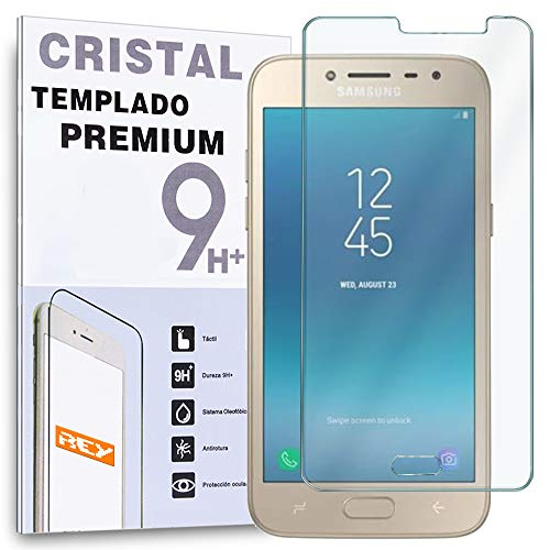 REY Protector de Pantalla para Samsung Galaxy J2 Pro 2018 / Grand...