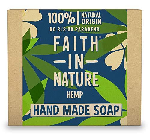 Faith Hemp Lemongrass Wrapped Soap 100g x 6