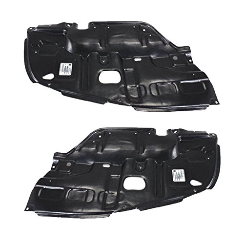 Koolzap For 02-03 ES300 & 04-06 ES330 Front Engine Splash Shield Under Cover LH+RH SET PAIR