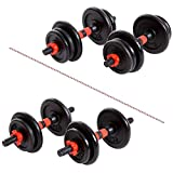 Xn8 Sports Mancuernas Ajustables 15kg and 20kg - Juego de Mancuernas Ajustables...
