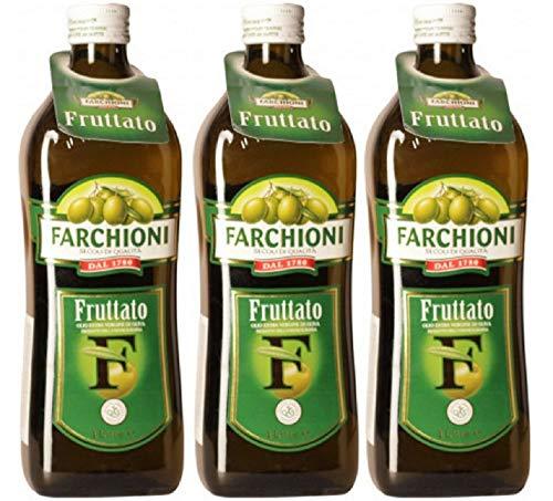 Farchioni Olio Extra Vergine di Oliva Fruttato (3 x 1000ml)