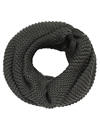 Bench Damen Mütze, Schal & Handschuh-Set Loopschal Tinsly grau (Smoked Pearl) One Size