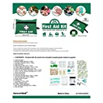 General Medi Mini First Aid Kit,92 Pieces Small First Aid Kit - Includes Emergency Foil Blanket, Scissors for Travel… 8