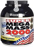 Weider Weight Gainer Mega Mass 2000 Complément alimentaire Banane 3000 g