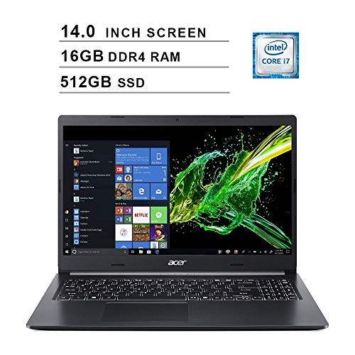 2020 Newest Acer Aspire 5 14 Inch FHD 1080P Laptop (8th Gen...