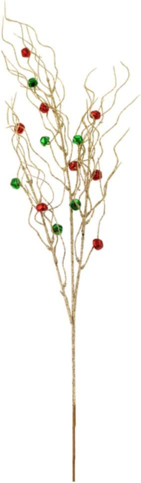 Crafty Capers Single 80cm Gold Max 84% OFF Floristry Glitter Branc Christmas Super sale period limited