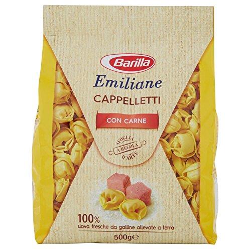 Barilla Pasta all'Uovo Ripiena Le Emiliane Cappelletti alla Carne - 500 g