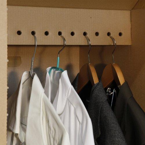 15 neue Kleiderboxen – Kleiderbox in Profi Qualität mit separatem Deckel incl Aufhängevorrichtung - 3