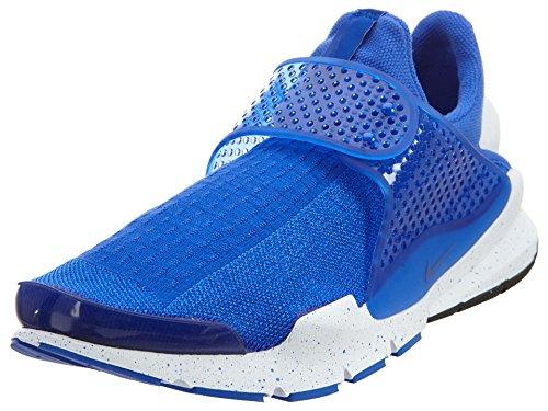 Nike Mens Sock Dart SE Blue Racer Blue/White Mesh Size 10