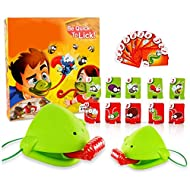 material: plastic The package contains: 2 chameleon masks, 10 target cards, and 10 game cards. Applicable occasions: indoor leisure products, parent-child interaction. Training: emotion, vision, intellectual development, hand-eye coordination, intera...