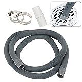 GAOHOU - Tubo di scarico universale per lavatrice, tubo di scarico, per lavastoviglie, tubo di scarico, 2 m