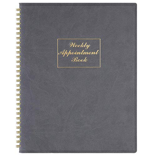 2021-2022 Weekly Appointment Book & Planner - 2021-2022 Daily Hourly Planner 8.4' x 10.6', July 2021- June 2022, 15-Minute Interval, Flexible Soft Cover, Twin-Wire Binding, Perfect for Your Life