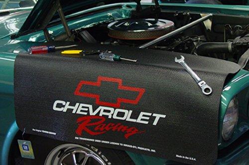 "Drake - Grip Fender Cover - Chevrolet Racing Red , Black , 22""x34"""