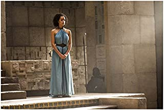 Game of Thrones Nathalie Emmanuel as Missandei Standing on Steps 8 x 10 inch  photo ab5960b1fcae