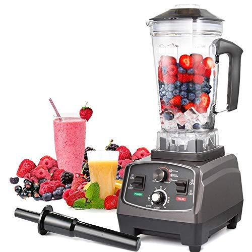 ZHIAI-Lynn Licuadora, Exprimidor, Fácil Limpieza, Licuadora eléctrica de Acero Inoxidable 2L, Procesadores de Alimentos de Frutas y Verduras Enteras