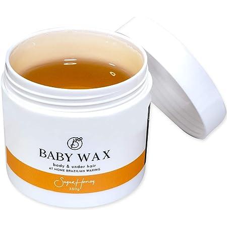 ブラジリアンワックス レディース 単品1個 350g BABY WAX ベビーワックス 全身 デリケートゾーン vio 背中 に使用可能 男性 女性 兼用