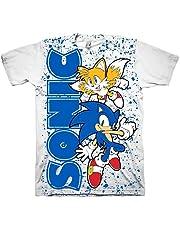 LIJUNQI Sonic T-shirt voor jongens met korte mouwen