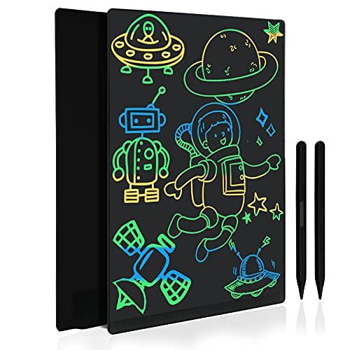 Tableta de Escritura LCD 11.5 Pulgadas, Pizarra Digital con Pantalla Completa Grande, Tablero de Dibujo Gráfico Portátil para Adultos, Juguete Infantíl para Niños de 3 4 5 6 7 Años (Negro)