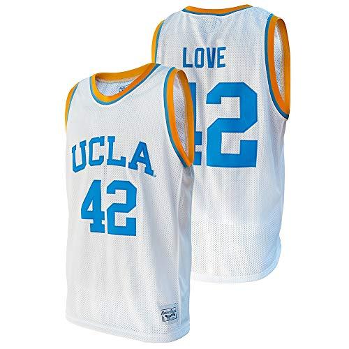 Elite Fan Shop Kevin Love Retro UCLA Basketball Jersey - X-Large - Kevin Love White