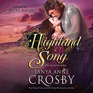 Highland Song audiobook cover art