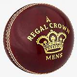 Readers - Balón de críquet para Hombre, diseño de Corona, Color Rojo