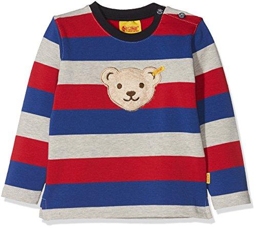 Steiff Steiff Baby-Jungen 1/1 Arm Sweatshirt, Mehrfarbig (Y/d Stripe Multicolored 0001), 62