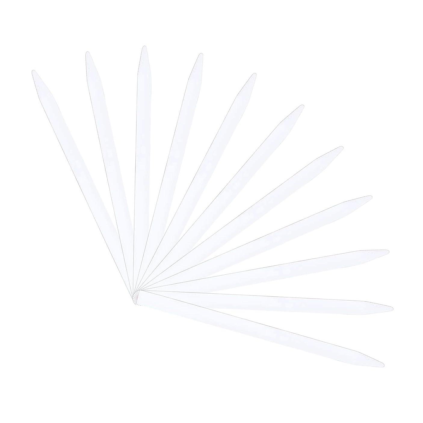 干し草アルファベット順抑制ストリップテスト Migavan テストストリップ 香りのアロマセラピーエッセンシャルオイルをテストするための100個の137×7ミリメートルの香水試験紙ストリップ