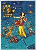 ポスター ジェームス フレームス Mondo Snow White 白雪姫 Cyclops Print 限定305枚 手書きナンバリング入り 額装品 アルミ製ベーシックフレーム(シルバー)