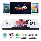3D Pandora Game Box Console arcade retrò Console videogiochi arcade per monitor LCD TV Proiettore PC, 2600 giochi precaricati, plug play, Full HD, connessione con VGA e HDMI, multiplayer online