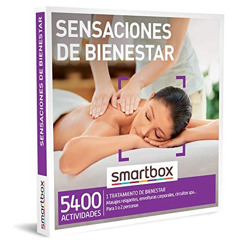 Smartbox - Caja Regalo para Mujeres - Sensaciones de Bienestar - Ideas Regalos Originales para Mujeres - 1 Actividad de Bienestar para 1 o 2 Personas