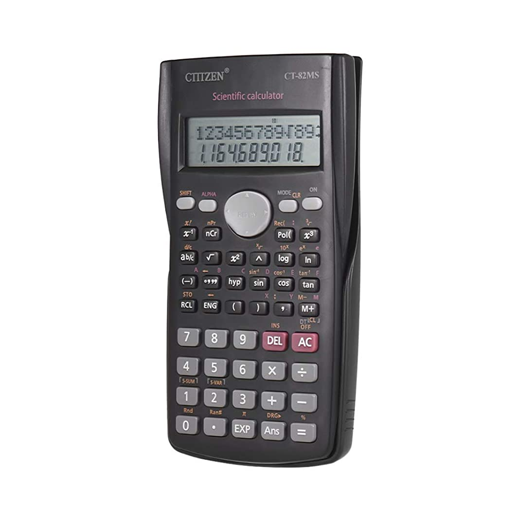 バスタブ資源ゴミ箱を空にするAibecy CT-82MS 多機能関数電卓 2桁表示 240機能 STAT-Data ポータブル電卓 数学教育