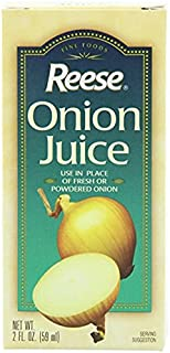 Reese Onion Juice Use in Place of Fresh or Powdered Onion (1-Bottle) (NET WT 2 FL OZ)