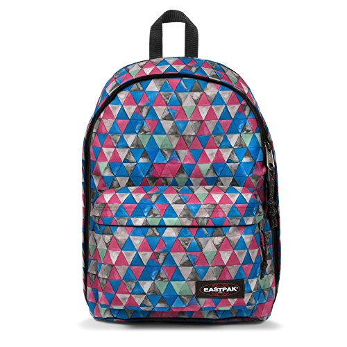 Eastpak Out of Office Zaino, 27 L, Multicolore (Aqua Geo May)