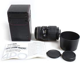 Sigma 70-300MM F4-5.6 DG APO for Nikon Macro TELEPHOTO Zoom Lens W CASE, Hood, Cap, Manual
