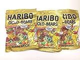 Haribo Gummi Candy, Gold Bears, 160g x 3,...
