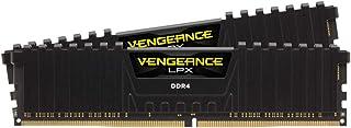 Corsair Vengeance LPX 16GB (2x8GB) DDR4 3200 C16 1.35V - PC Memory CMK16GX4M2D3200C16 Black