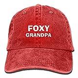 Foxy Grandpa Vendimia Ajustable Cowboy Cap Gorras de béisbol For Man and Woman