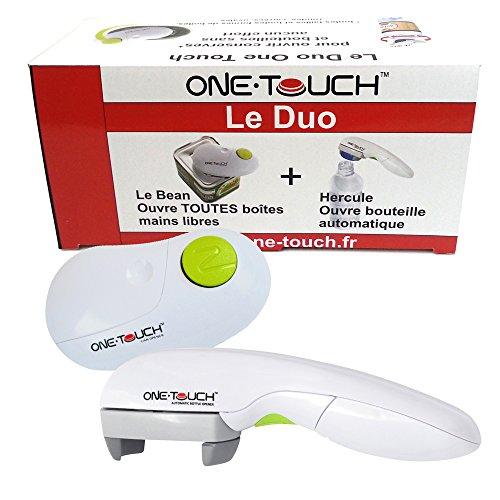 Ouvre Boîte et Ouvre Bouteille automatiques Le Duo One Touch