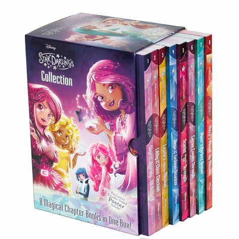 Star Darlings Collection 8 Magical Chapter Books in One Boxed Set [Astra, Piper, Cassie, Scarlet, Vega, Leona, Libby and Sage]