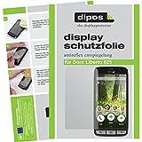 dipos I 2X Schutzfolie matt kompatibel mit Doro Liberto 825 Folie Bildschirmschutzfolie