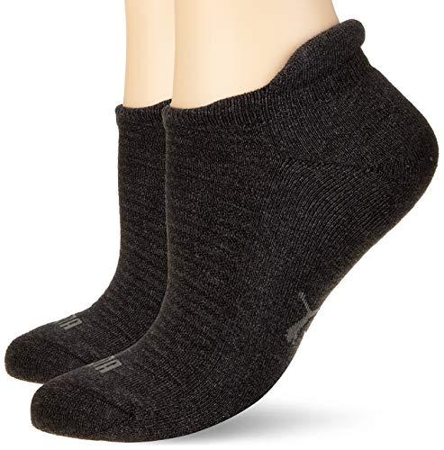 PUMA Frauen Sneaker Trainer Socken, Anthrazit, 39/42 (2er Pack)