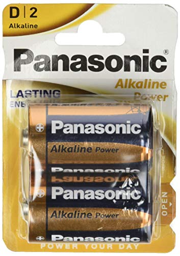 Panasonic 2272 Alkaline Power Batterie LR20 D Mono