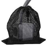 Bolsa De Filtro De Bomba De Malla para Estanques, Bolsa De Barrera De Bomba Grande De 30x40 Cm con Cordón, para Biofiltros De Estanques Al Aire Libre, Filtración De Acuarios (1pcs)