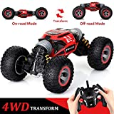 KingsDragon Remote Control Car,2.4 GHZ High Speed Stunt RC Racing Cars RC Rock Crawler w/...