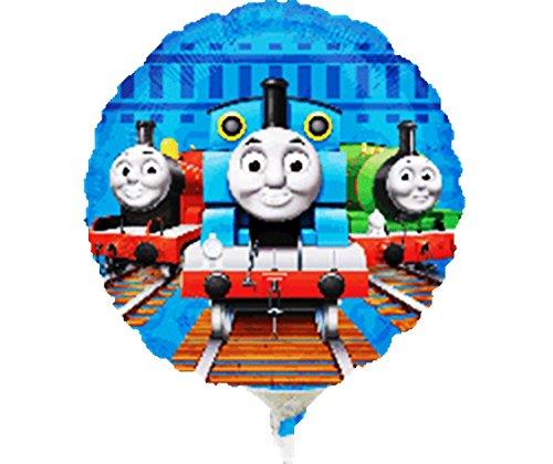 Ballon mylar Thomas le petit train (23 cm)
