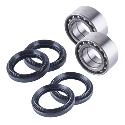 East Lake Axle Front cv axles /& wheel bearings set compatible with Honda TRX 500 Foreman//Rancher//Rubicon 2014 2015 2016
