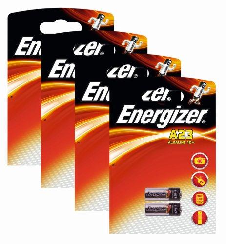 Energizer originale batterie spéciale Alcaline A23 (12 volts, 4x 2-Pack)